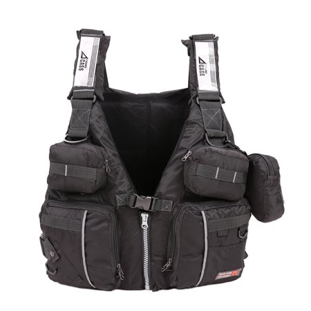 Adult Detachable Buoyancy Aid Sailing Kayak Canoeing Fishing Life Jacket