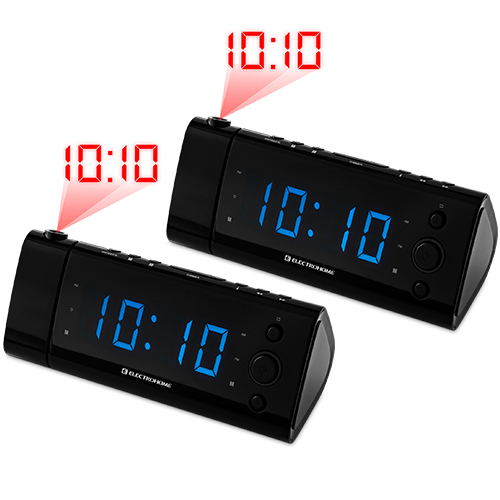 how to set time on sony projection alarm clock
