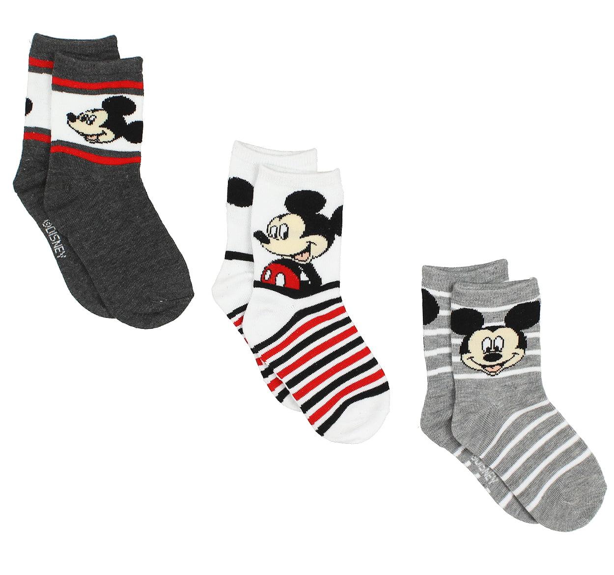 Mickey Mouse Boys 3 pack Socks MK064BSB