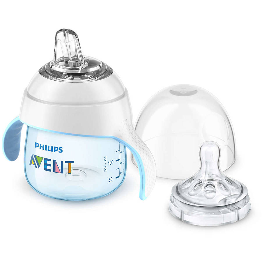 Philips Avent My Natural Trainer Cup, 5 Ounces, 1-Pack, 4 Months+, Stage 1, BPA-Free