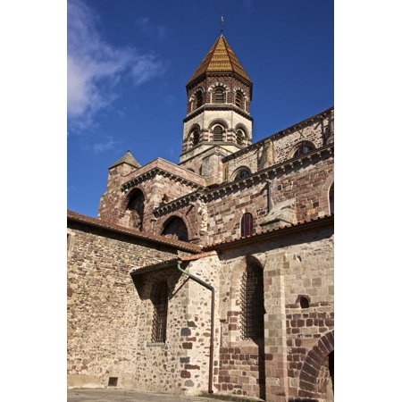 Saint Julien Grand (Saint Julian Basilica (St. Julien Basilica) Dating from the 9th Century Print Wall Art By Guy Thouvenin)