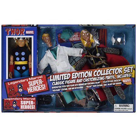 DIAMOND SELECT TOYS Marvel Retro Thor Limited Edition Action Figure Gift Set - image 3 of 3
