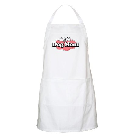 CafePress - Snoopy Dog Mom - Kitchen Apron with Pockets, Grilling Apron, Baking -