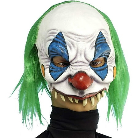 Evil Clown Mask for $<!---->