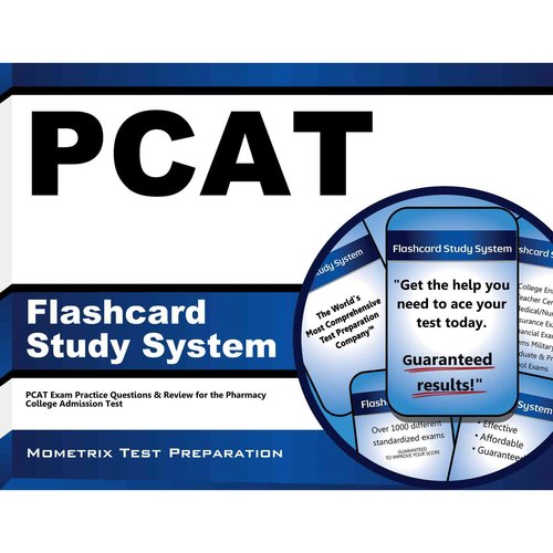 PCAT Flashcard Study System : PCAT Exam Practice Questions and Review for the Pharmacy College Admission Test