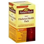 Nature Made Daily Diabetes Health Pack, 60 Packets, 60 Day Supply