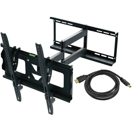 Full Motion Recording (Ematic Full Motion TV Wall Mount Kit with HDMI Cable for 19
