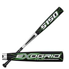 New Rawlings YB51XO 32/21 ExoGrid 5150 Blk/Grn Little League Baseball Bat 2 1/4""