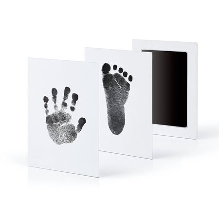 Special baby hand foot print and stamp pad ink leave - Baby Footprint Stamp