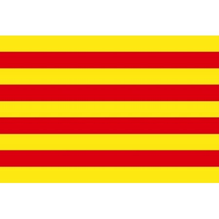 3x5 Catalonia Spain Flag Spanish Banner Pennant Bandera 3x5 Foot Indoor Outdoor](Spanish Flags)