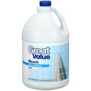 Great Value Bleach, 1.42 Gal