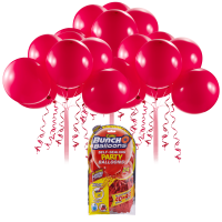 Bunch O Balloons Self-Sealing Latex Party Balloons, Red, 11in, 24ct