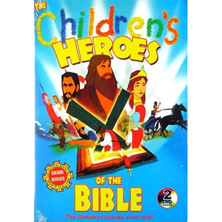 The Children's Heroes of the Bible (DVD) - Children's Halloween Movies 2017