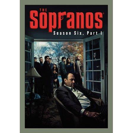 Sopranos 6Th Season Part 1  Dvd 4 Disc Re Pkgd Viva   Hbo