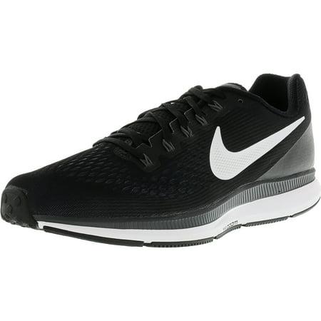 98a69f0f Nike Men's Air Zoom Pegasus 34 Black / White-Dark Grey Ankle-High ...