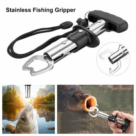 Fishing Gear Gripper Stainless Steel Fish Lip Grabber Grip