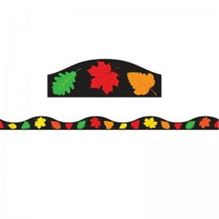 Magnetic Border Fall Leaves Seasonal, 1.5 in. - Fall Border