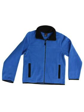 At The Buzzer Polar Fleece Solid Jacket