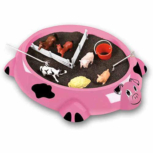 Sandbox Critters Play Set, Piggy Farm