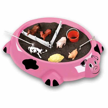 Sandbox Critters Play Set, Piggy Farm