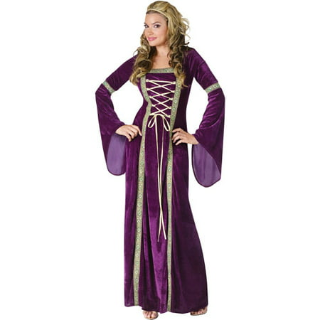 Renaissance Lady Adult Halloween Costume - Ladies Football Halloween Costume