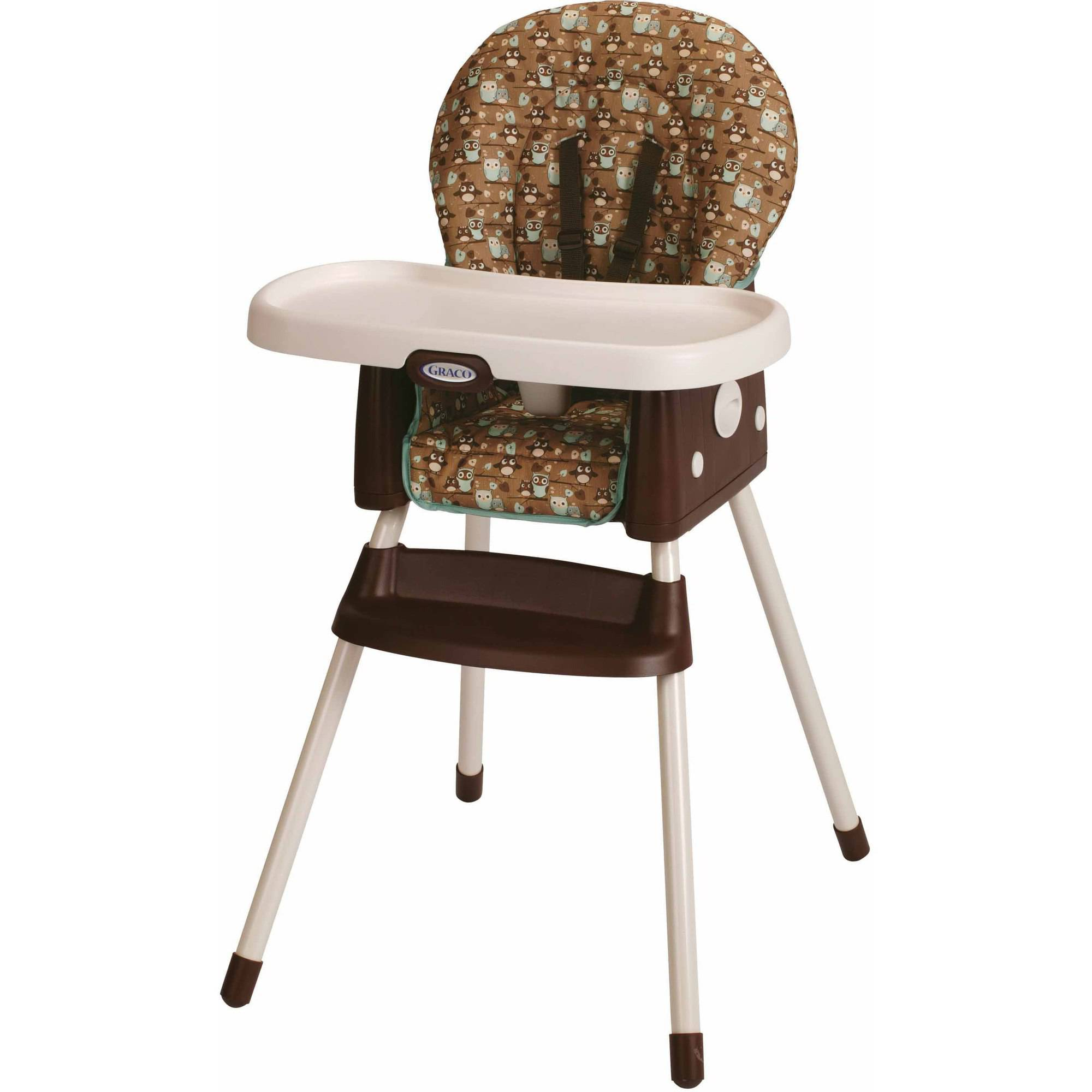 L A Baby Stackable Wood High Chair Walmart