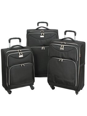 282918e0c Product Image Geoffrey Beene Ultra Lightweight Midnight Collection Luggage  Set