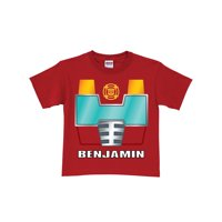 Personalized Transformers Rescue Bots Heatwave Red Toddler Boys' T-Shirt