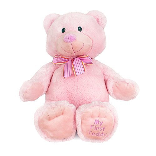 "Russ My First Teddy Bear Large, 22"" Plush (Pink) by Russ Berrie & Co., Inc."