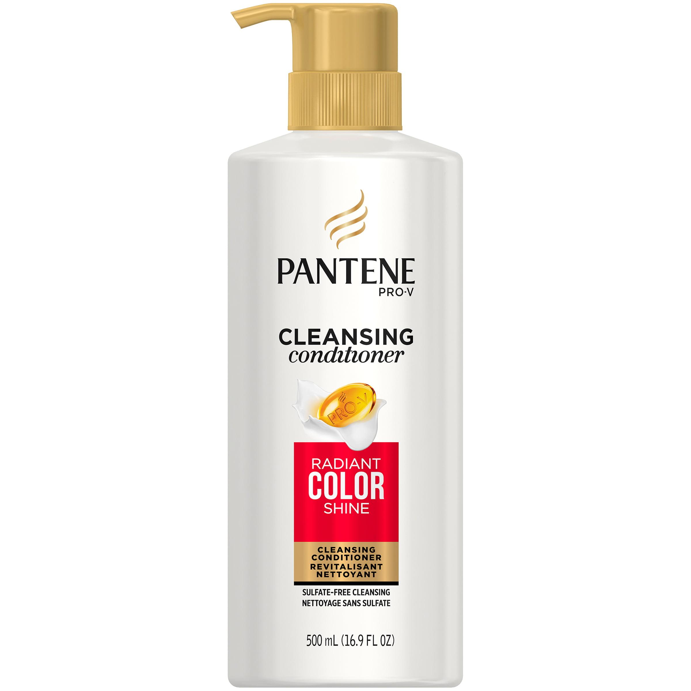 Pantene Pro-V Radiant Color Shine Cleansing Conditioner, 16.9 fl oz