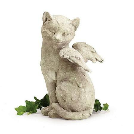 Star Cat Figurine (Burton & Burton Stone Angel Cat Figurine )