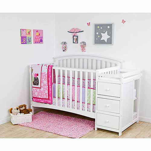 Dream On Me Niko 5-in-1 Convertible Crib White BOX 2