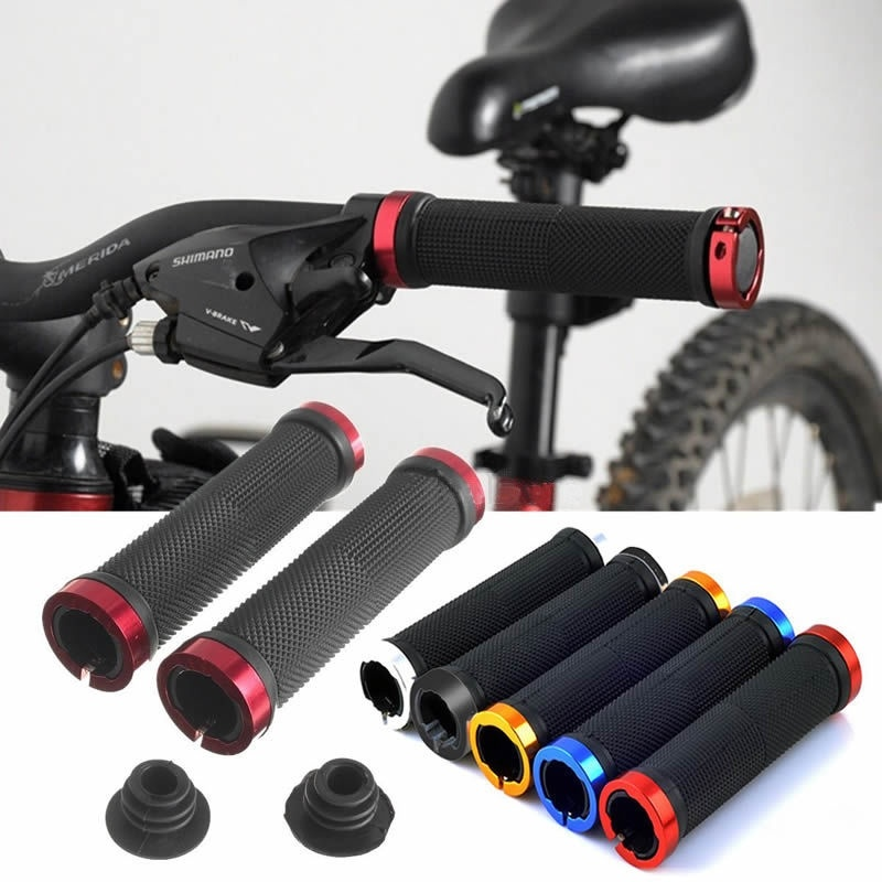 Motorcycle Cycling MTB Kids Bike Rubber Hand Grips Handle Bar For BMX  NEW