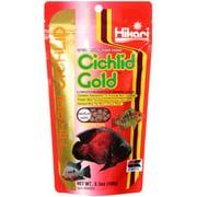 Hikari Cichlid Gold Medium Pellets Fish Food, 3.5 oz
