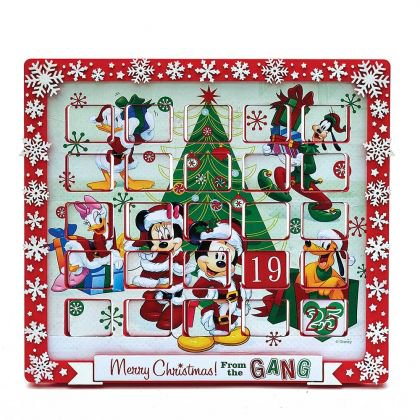 Kurt Adler 9.5-Inch Mickey Mouse and Friends Advent Calendar (Mickey Mouse Calendar)