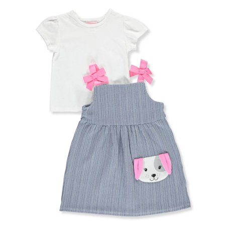 Youngland Girls' 2-Piece Dress Set Outfit