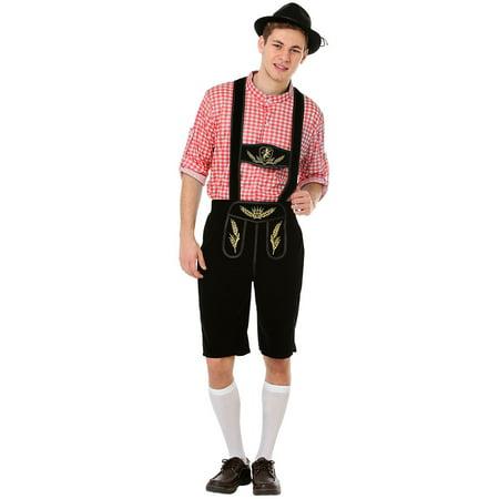 Boo! Inc. Oktoberfest Lederhosen Halloween Costume | Perfect for Parties and Dress Up - Halloween Lederhosen Costume