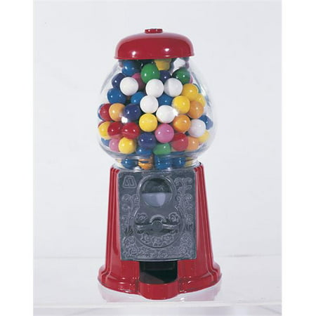 American Gumball Machine AGM9 Red 9 in. old fashion gumball machine