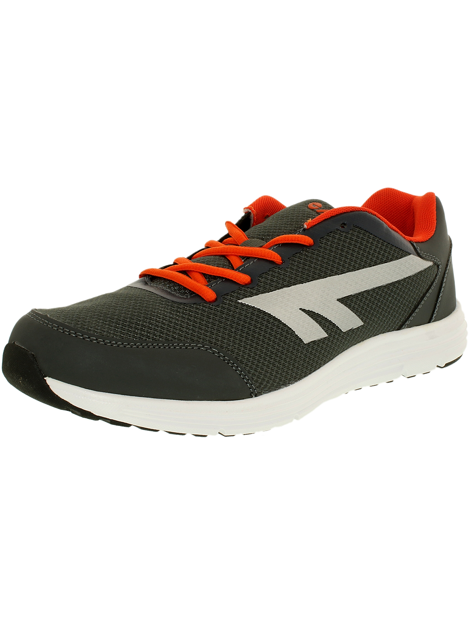 Hi-Tec Men's Pajo Royal Dark Grey Silver Ankle-High Running Shoe 12M by Hi-Tec