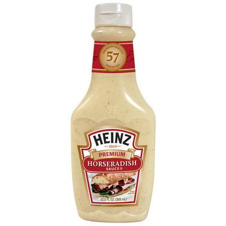 Heinz Premium Horseradish Sauce, 12.5 oz - Walmart.com