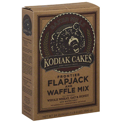 Kodiak Cakes Flapjack and Waffle Frontier Mix, 24 oz, (Pack of 6)