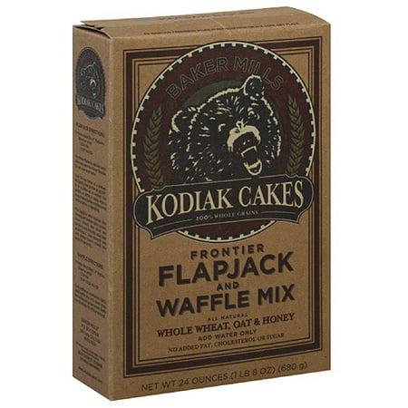 Kodiak Cakes Flapjack and Waffle Frontier Mix, 24 oz, (Pack of 6)