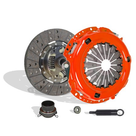 Clutch Kit works with Toyota T100 Tacoma 4Runner Tundra Base Pre Runner S-Runner SR5 Limited Dlx One-Ton Extended Sport 1995-2004 3.4L V6 GAS DOHC (Clutch Disc Stage 1; 2Wd; 4Wd)