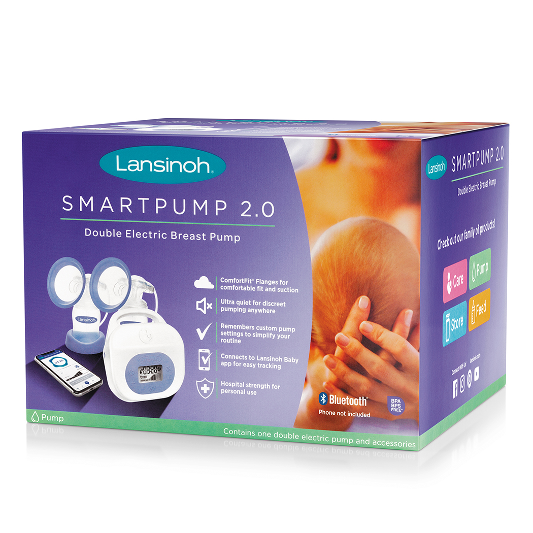 Lansinoh Smartpump 2 0 Double Electric Breast Pump Walmart Com