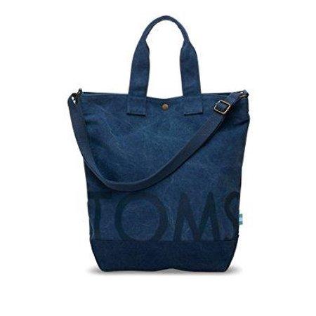 Toms Uni Compass Tote Bag Navy Handbag