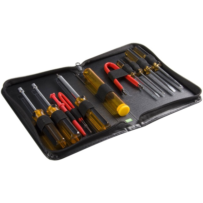 Startech 11 Piece PC Computer Tool Kit with Carrying Case
