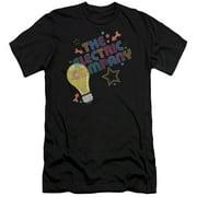 Electric Company Electric Light Mens Premium Slim Fit Shirt