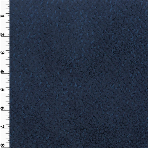 Polartec Chenille Fleece  - Blue, Fabric By the Yard