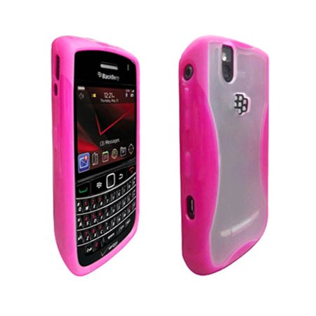 9630 Blackberry (OEM Verizon Dual Cover Case for BlackBerry Bold 9650 / Tour 9630 (Pink) (Bulk Packaging) )