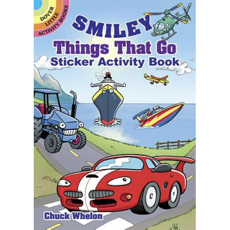 Smiley Things That Go Sticker Activity Book